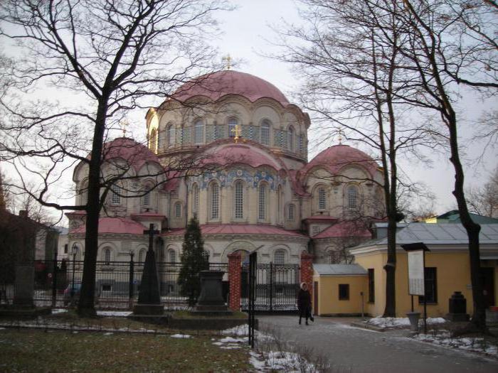 новодевичье кладбище санкт петербург