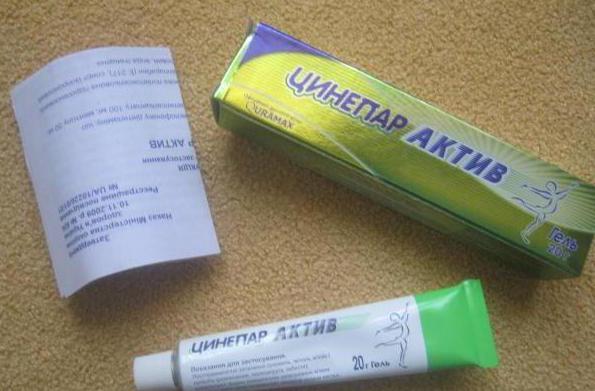 инструкция по применению таблетки цинепар