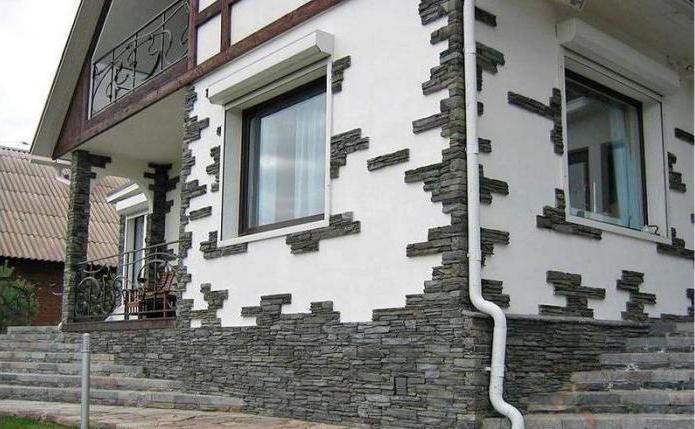 фасадные материалы отделки