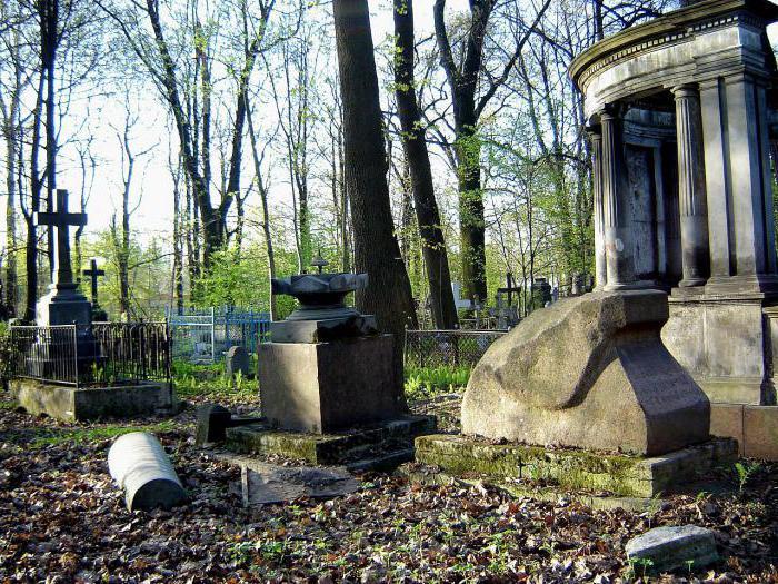 Смоленское лютеранское кладбище в санкт петербурге