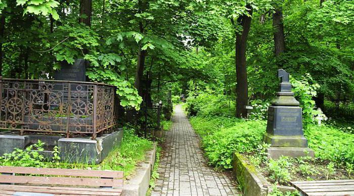 Смоленское лютеранское кладбище петербург