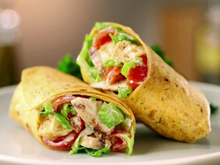 бургер кинг калорийность блюд цезарь ролл