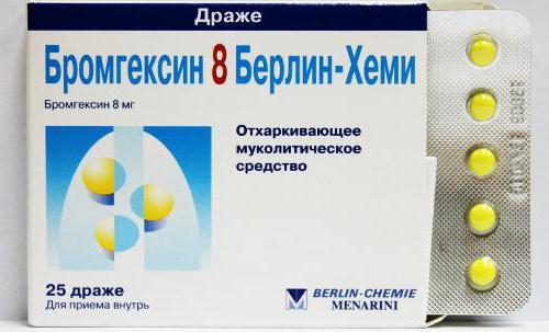 лекарство при бронхите от кашля