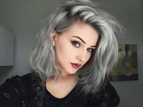 Волосы пепельного цвета