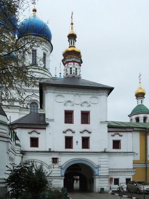 Николо-Перервинский монастырь расписание богослужений