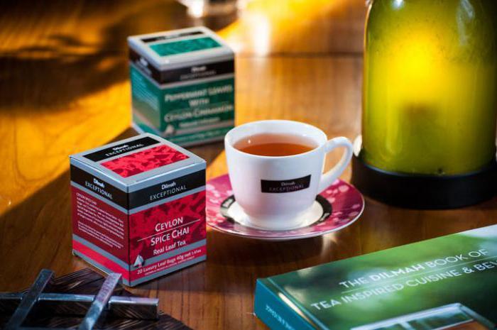 чай дилмах ассортимент