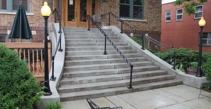 ступени бетонные для лестниц