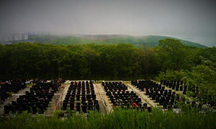 Морское кладбище владивосток