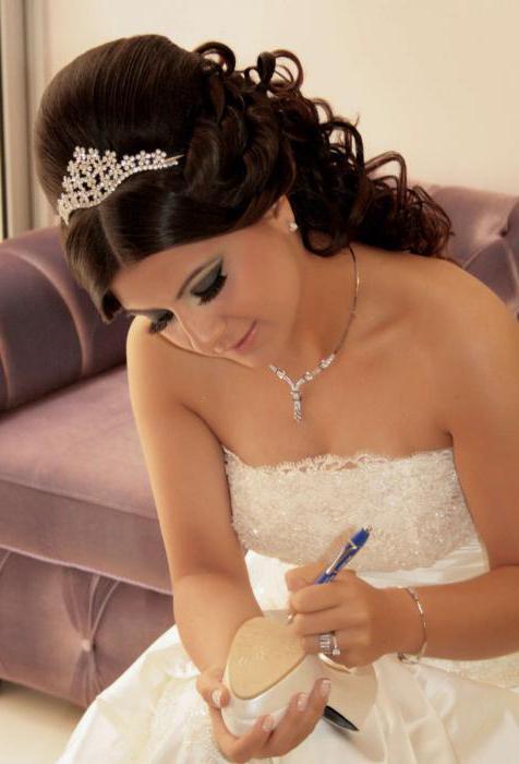 свадебные прически с бабетой
