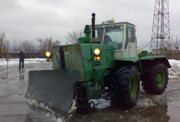 технические характеристики трактора т 150