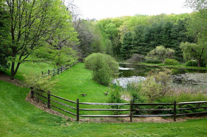 правовой режим дендрологических парков
