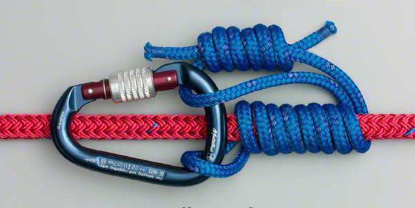 как вязать двойной схватывающий узел