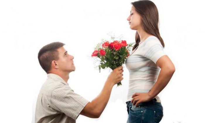 что должеа сделать девушка чтлбы ее простил парень