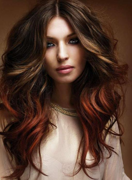 самое красивое окрашивание волос