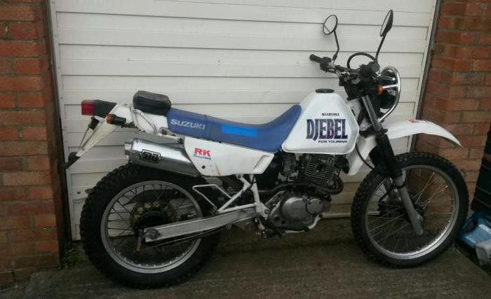 обзор мотоцикла suzuki djebel 200