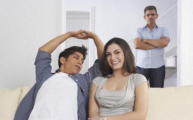 знакомство родителей парня с девушкой