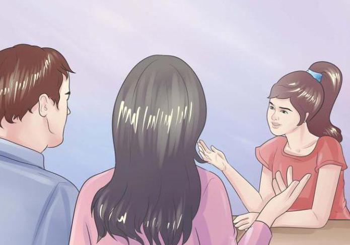 знакомство родителей парня с родителями девушки
