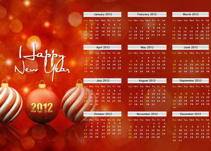 как сделать новогодний календарь в фотошопе