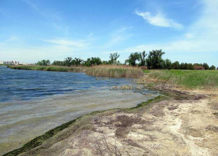 озеро в крыму