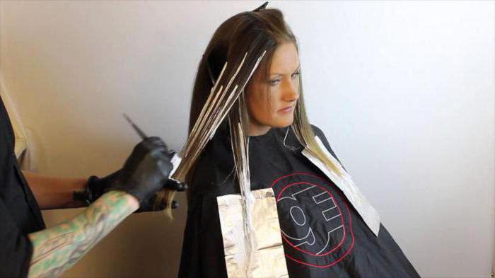 омбре на темные волосы основные виды окрашивания