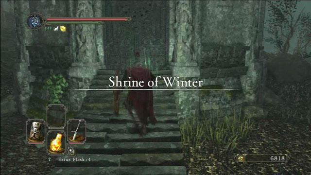 dark souls 2 храм зимы