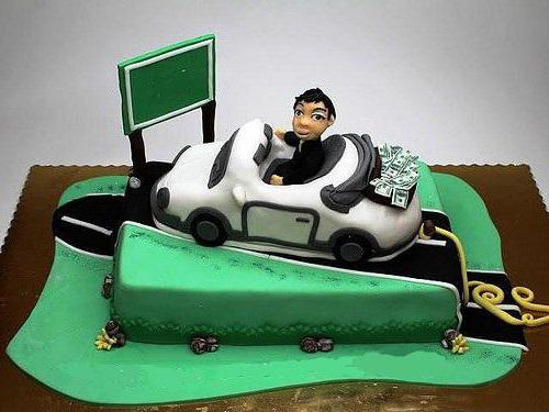 Торт для автомобилиста