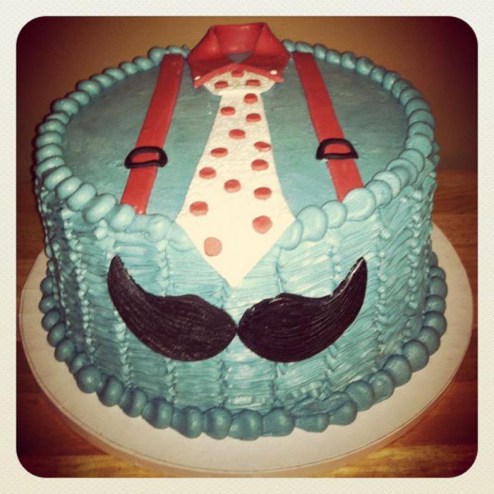 Торт с усиками