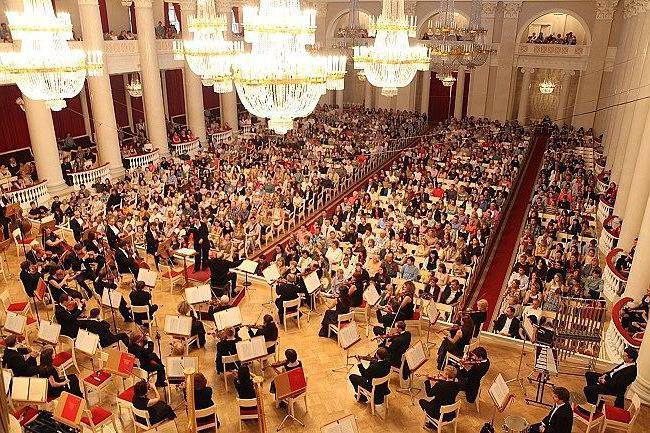 санкт петербург филармония репертуар