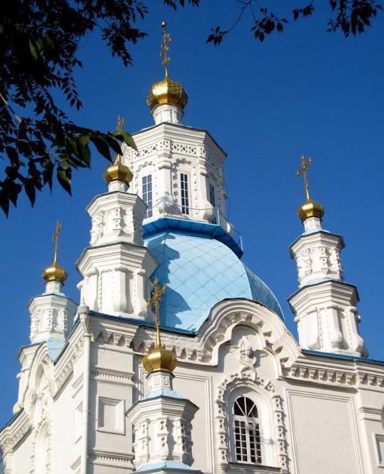 Покровская церковь храмы Красноярска