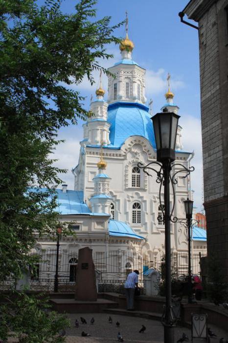 Покровская церковь в Красноярске описание