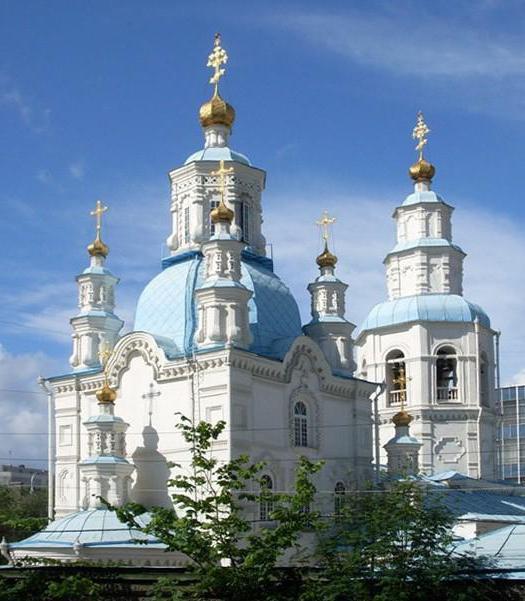 Покровская церковь Красноярск