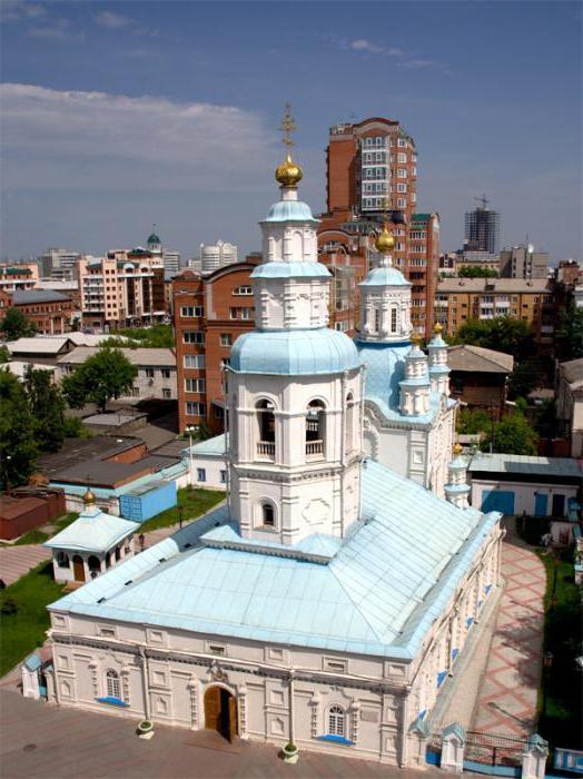 Покровская церковь в Красноярске история
