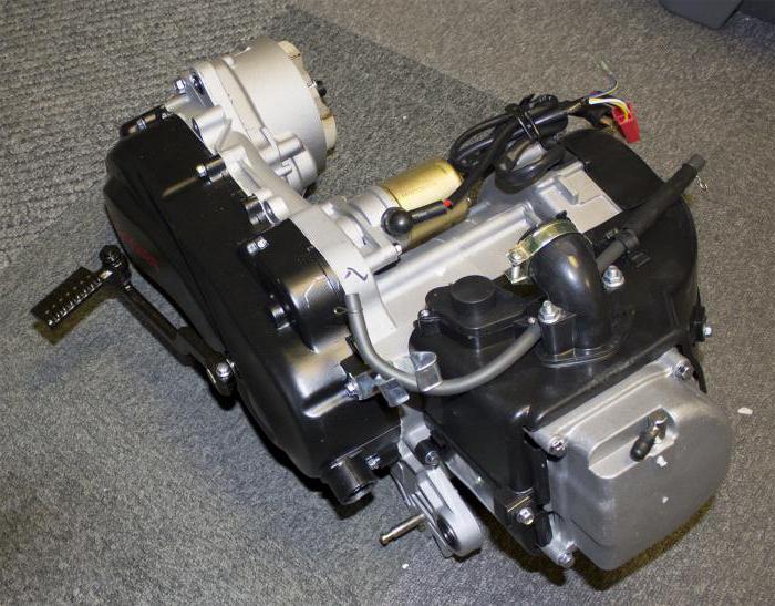 четырехтактный двигатель скутера