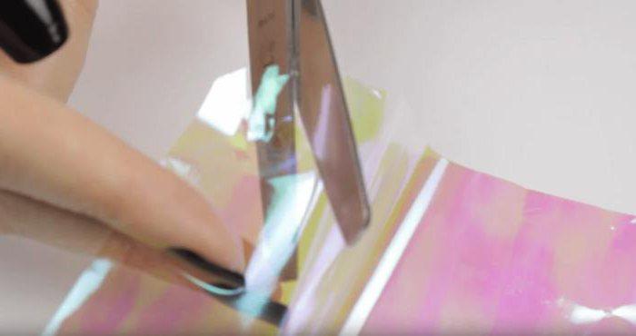 стеклянный маникюр фото пошагово