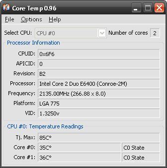 как узнать температуру процессора в windows 10 на ноутбуке