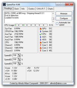 как узнать температуру процессора в windows 10 в эверест