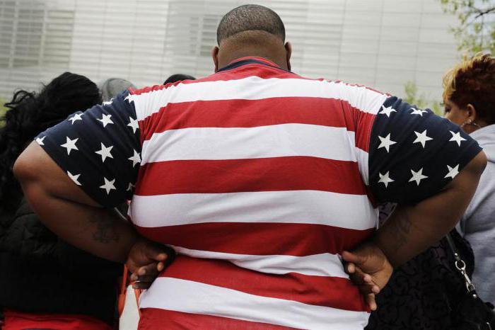 американцы самые толстые