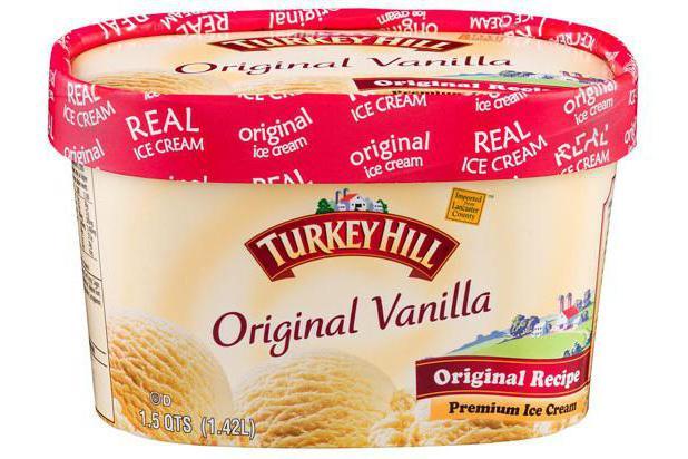 натуральное мороженое марки