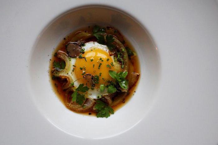 куриный бульон с яйцом рецепт