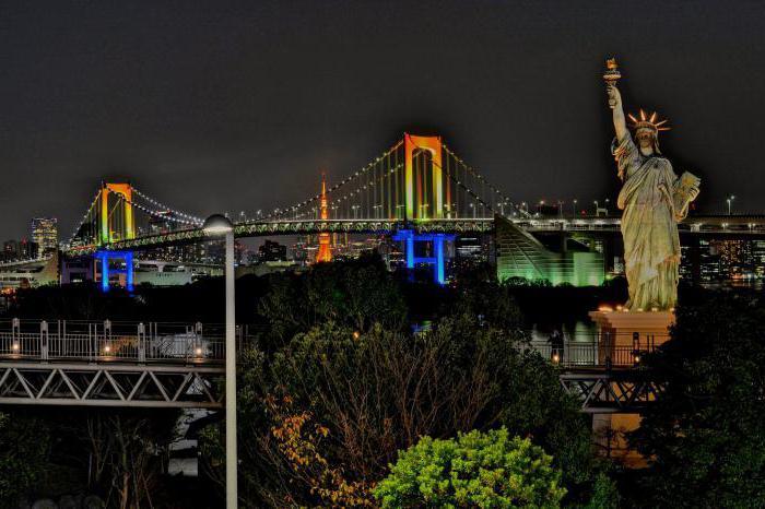 радужный мост токио описание