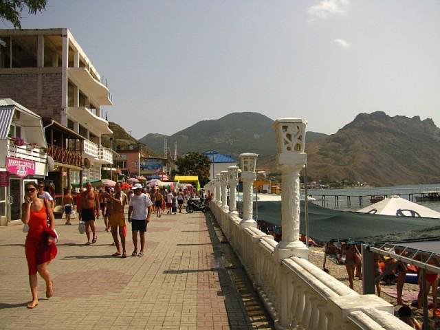 коктебель гостиницы на берегу моря
