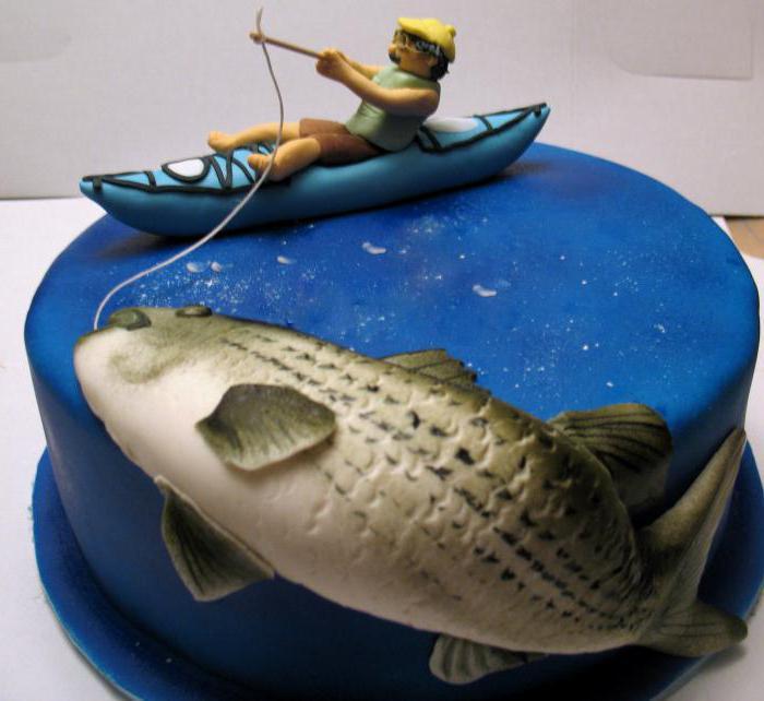 юбилей рыбака фото