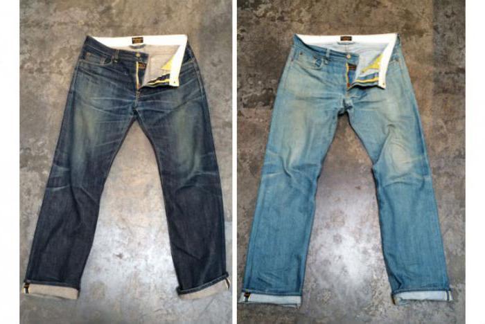Осветленные джинсы в домашних условиях
