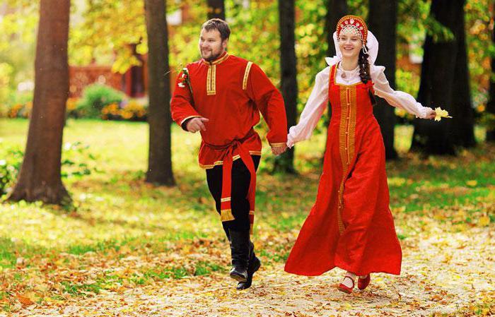 свадебные платья в русском стиле
