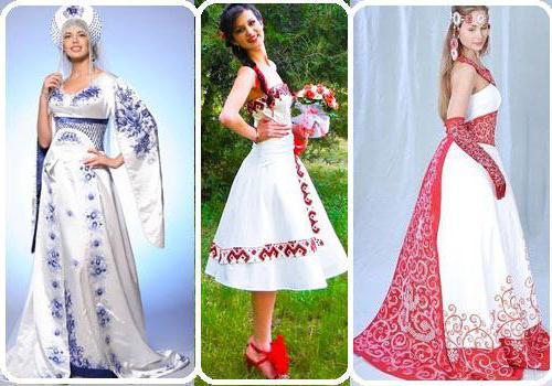 свадебный сарафан