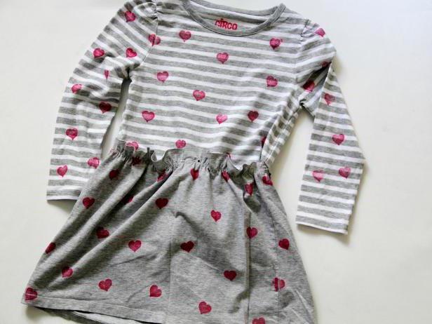 как из большой футболки сделать платье