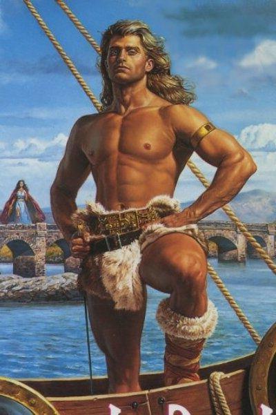 любовно исторические романы про викингов