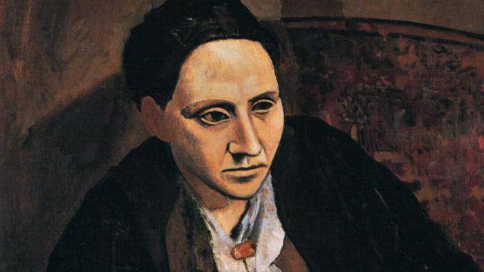 портрет гертруды стайн