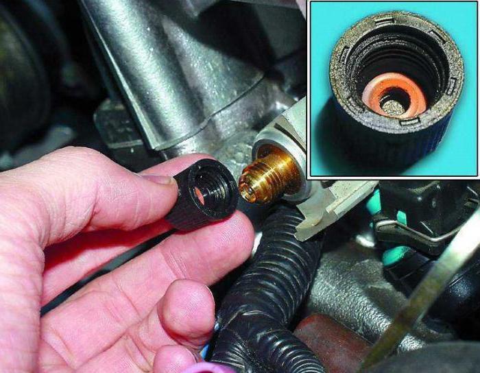 Снятие и установка топливной рампы и регулятора топлива ваз 2110, ваз 2111, ваз 2112, лада десятка
