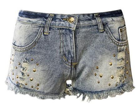 джинсовые шорты из старых джинс